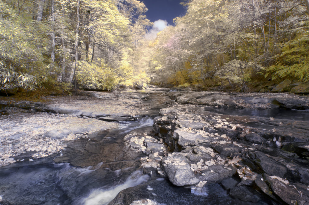 2013-Oct-New River Gorge-590nm-Faux Color-0412