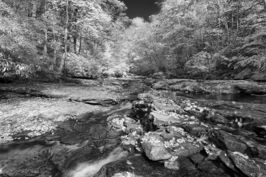 2013-Oct-New River Gorge-590nm-Faux Color-BW-0412